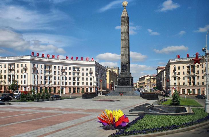 Город-герой Минск, Монумент Победы